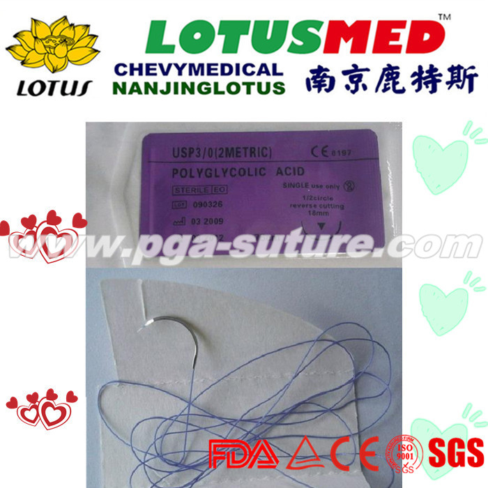 Medical Polyglycolic Acid Rapid Suture