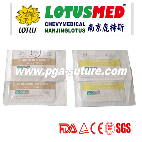 polyglycolic acid suture reel