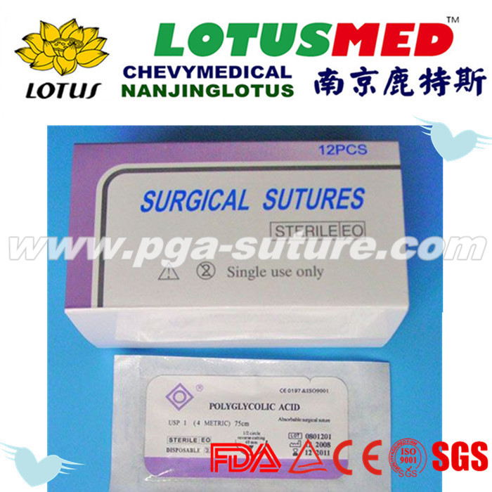 Surgical Sutures Medical Suture PGAR