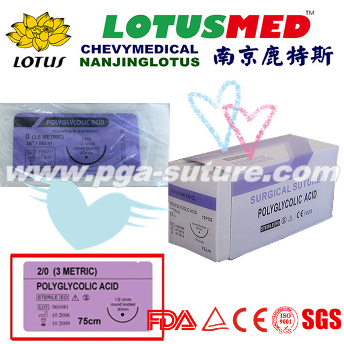 Polyglycolic Acid Rapid Surgical Suture Profession...