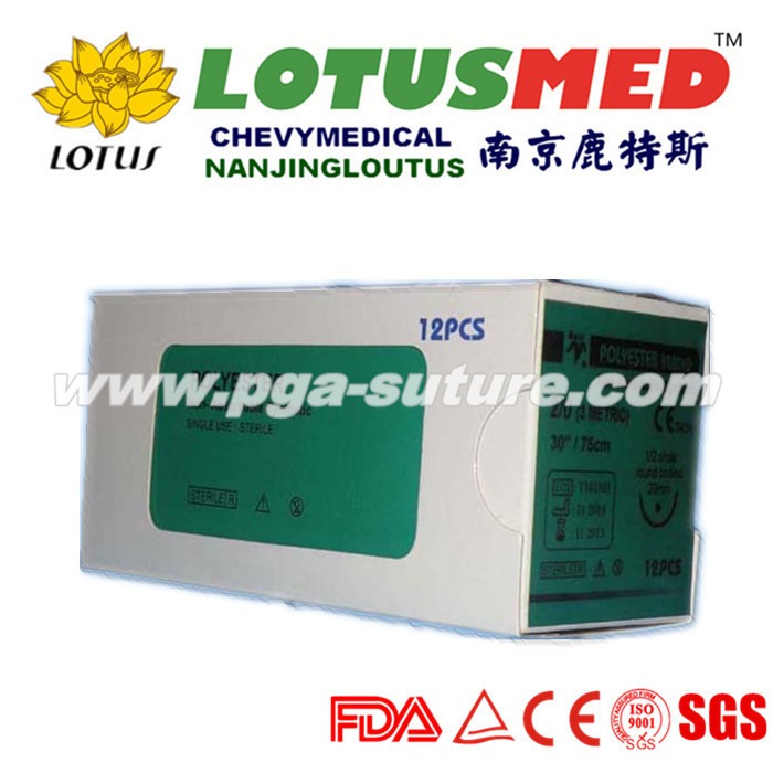 Surgical Polyester Braided Suture Reel