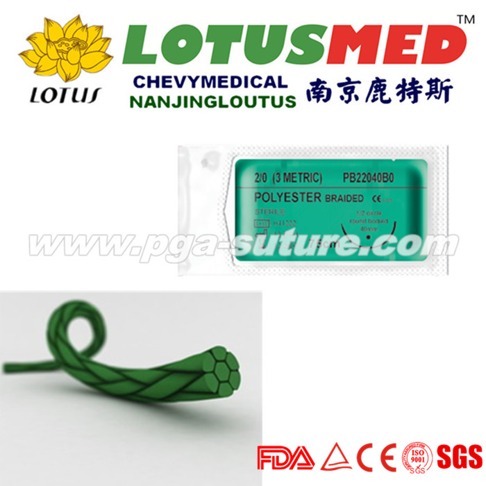 LOTUSMED Surgical Polyester Braided Suture Reel