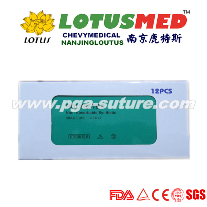 LOTUSMED Barbed Polyester Braided Suture