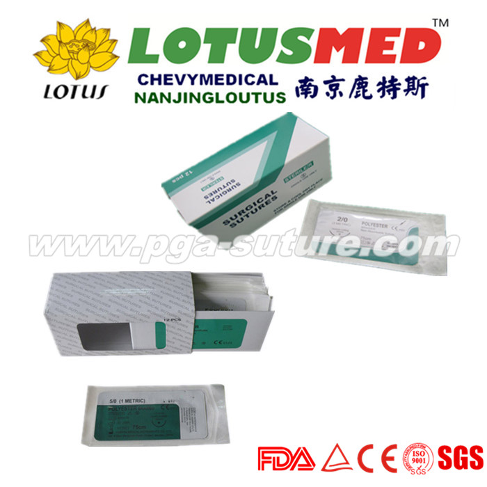 LOTUSMED Perfect Surgical Polyester Braided Suture
