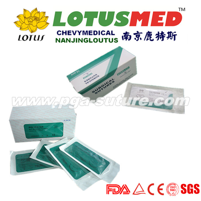 LOTUSMED Ecosorb Polyester Braided Suture