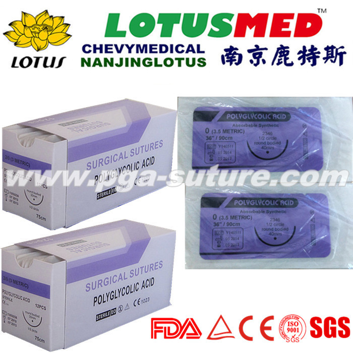 High Quality Surgical Use Polyglycolic Acid Rapid ...