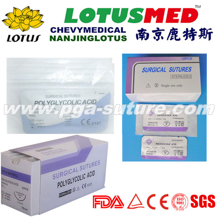 Nanjing LOTUS Human Use Polyglycolic Acid Rapid ...