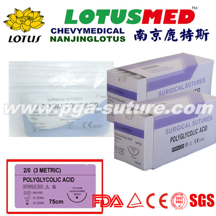 Nanjing LOTUS LOTUSMED  Medical Polyglycolic Acid ...