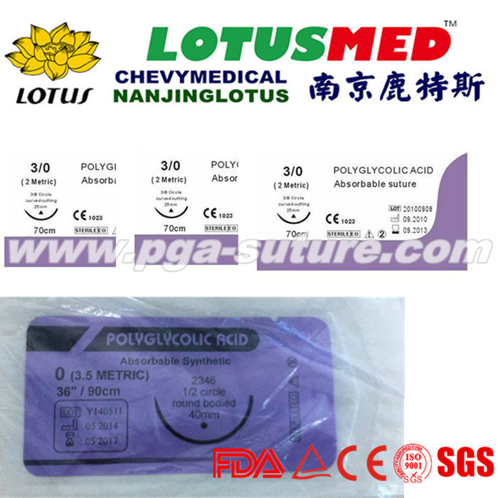 Professional Medical Polyglycolic Acid Rapid Surg...
