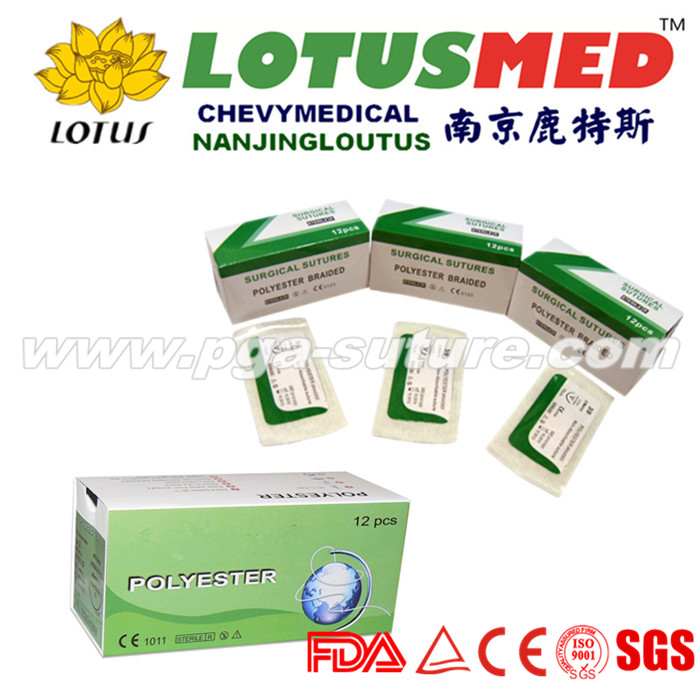 LOTUSMED Dental Polyester Braided Suture