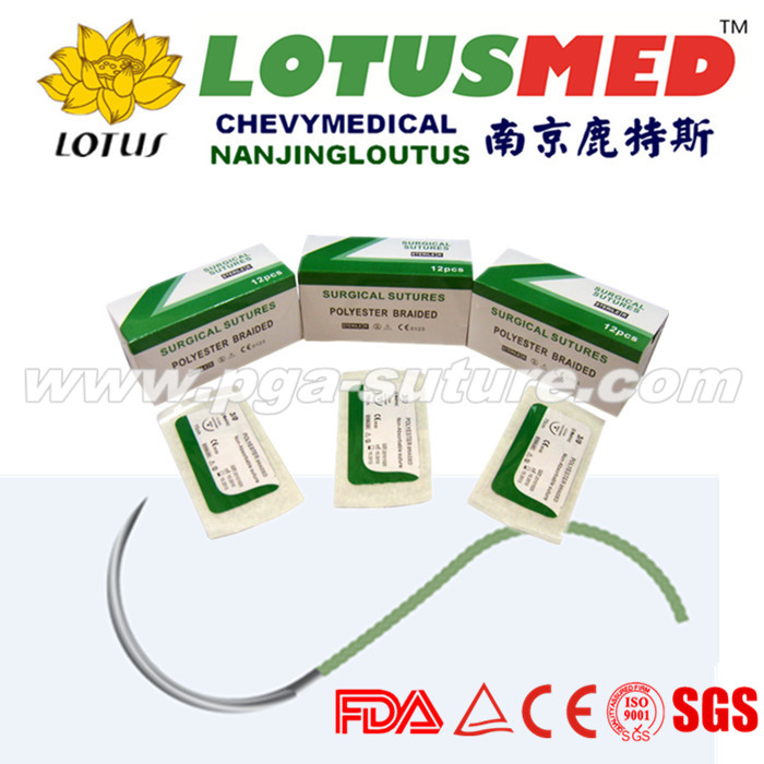 Veterinary Polyester Braided Suture
