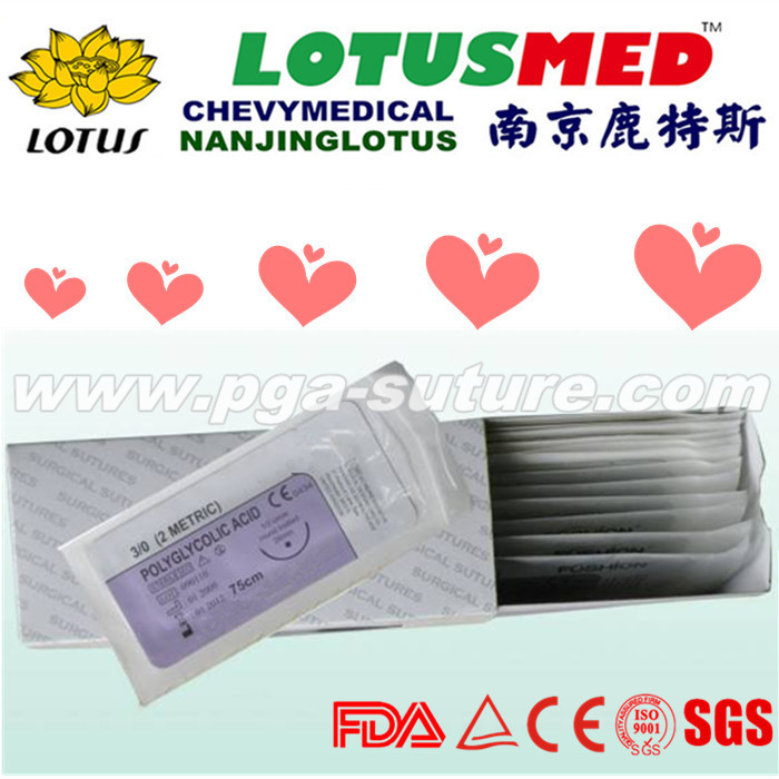 Medical Suture PGAR Surgical Sutures With Needle