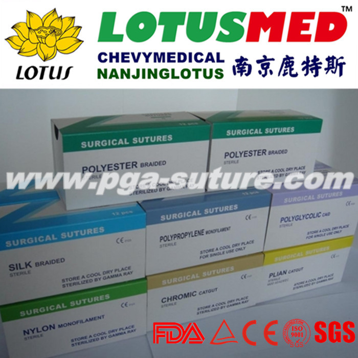3D Absorable Sutures