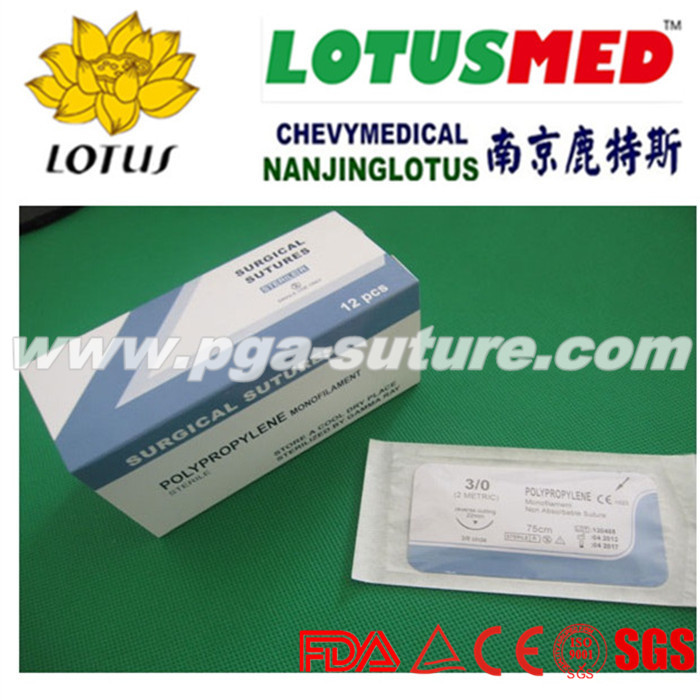 polypropylene suture reel
