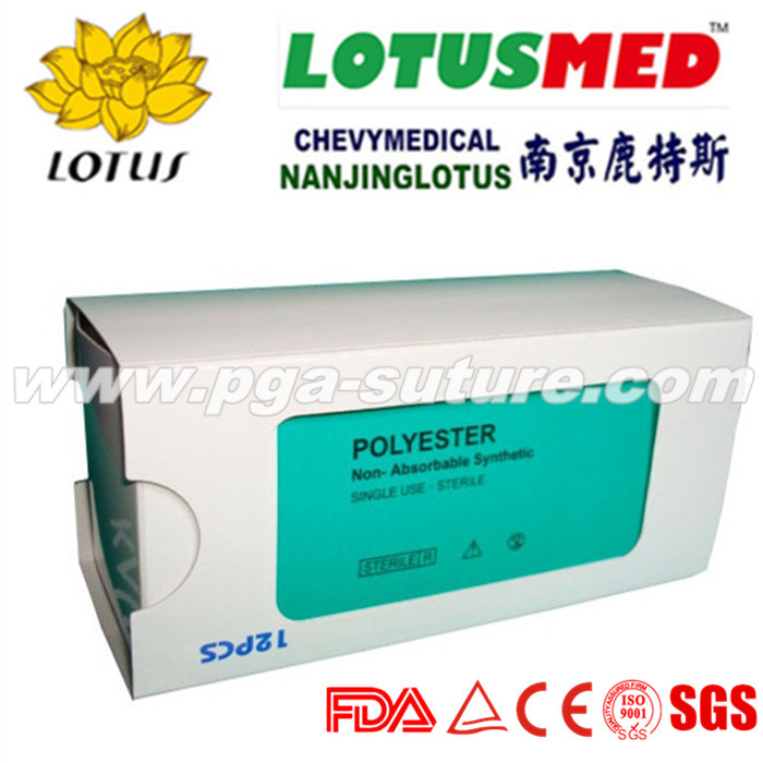 Veterinary polypropylene suture