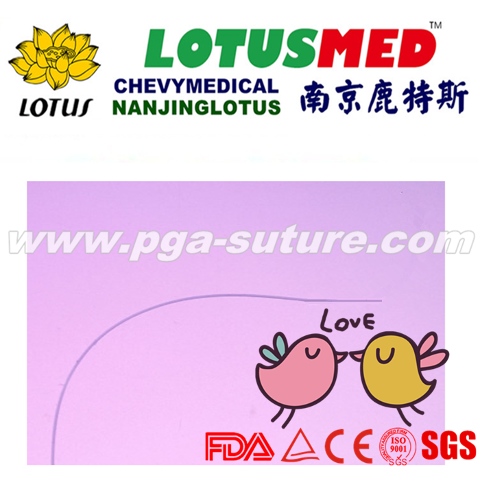 LOTUSMED High Quality PGA Polyglycolic Acid Suture...