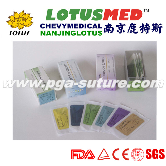 High quality absorbable plain catgut surgical sutu...