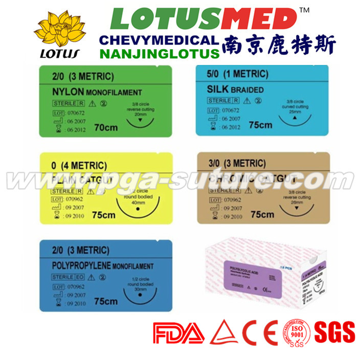 Medical surgical Plain catgut absorbable suture wi...