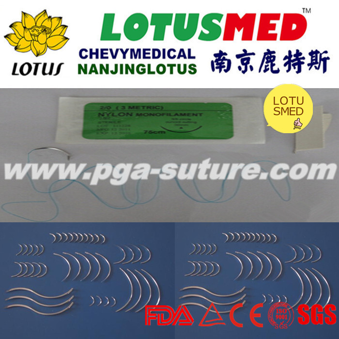 LOTUSMED High Quality Nylon Surgical Suture